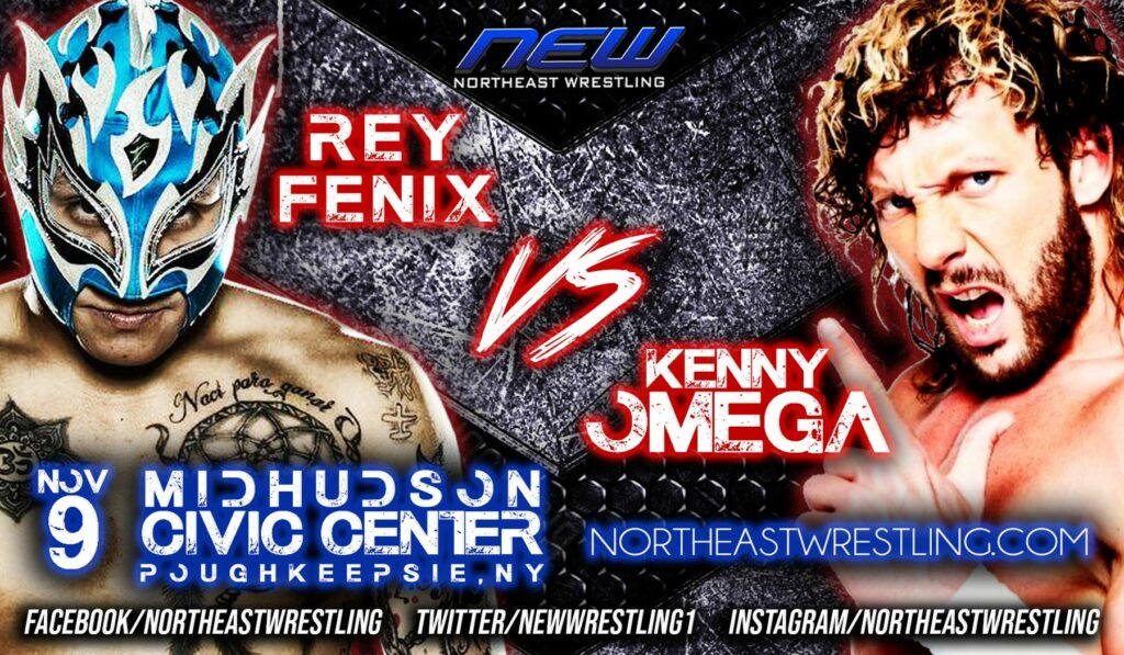 Rey Fenix vs Kenny Omega