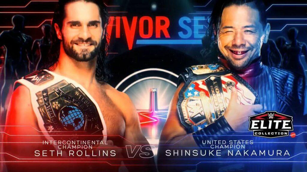 Shinsuke Nakamura vs Seth Rollins