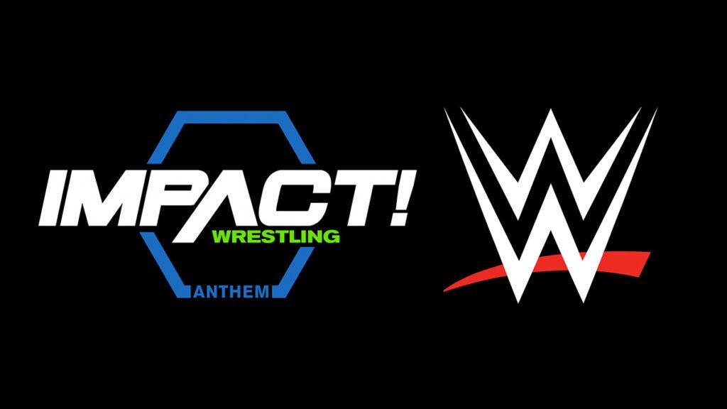 IMPACT and WWE logos