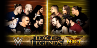 Team NXT vs Team WWE League of Legends