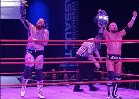 Villain Enterprises Wins Tag Team Gold in Australia