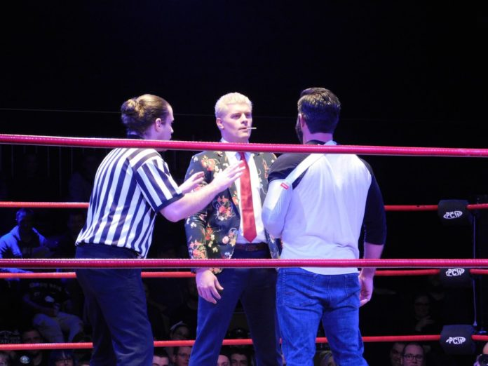 Joey Ryan and Cody Rhodes