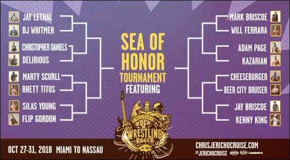 Sea of Honor bracket
