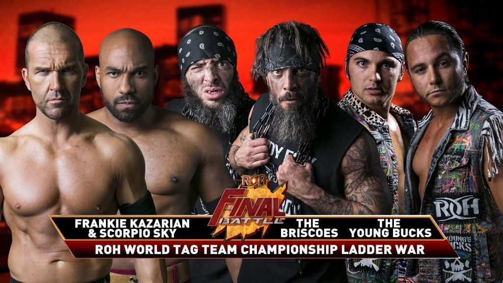 Briscoes vs Young Bucks vs SCU