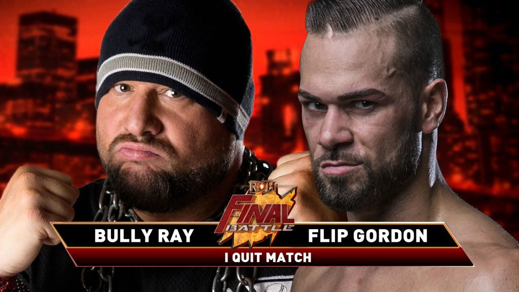 Bully Ray vs Flip Gordon