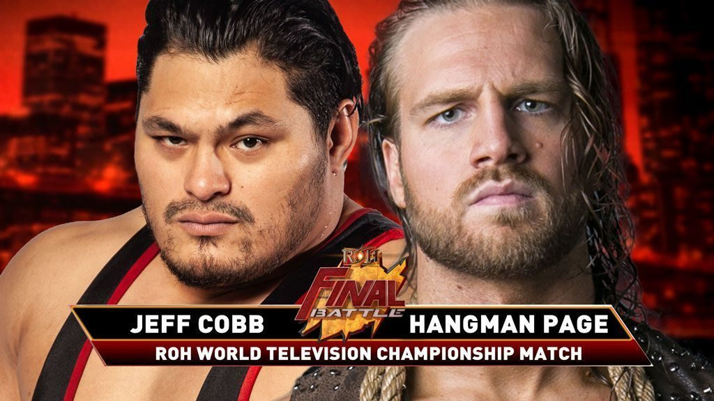 Jeff Cobb vs Hangman Page