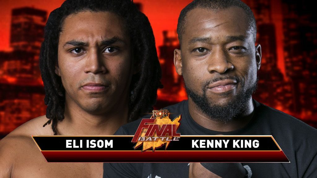 Kenny King vs Eli Isom