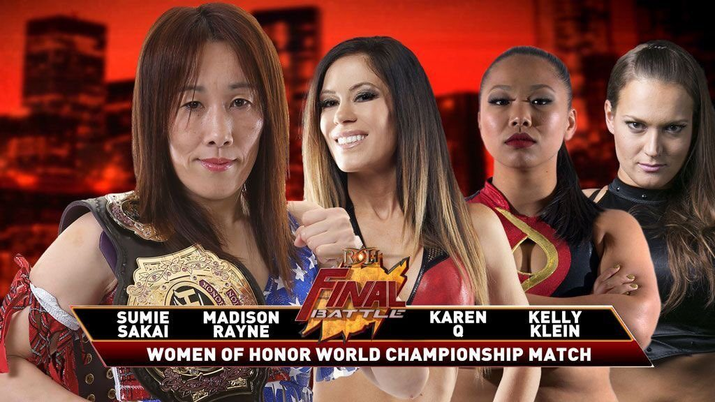 Sumie Sakai vs Madison Rayne vs Kelly Klein vs Karen Q