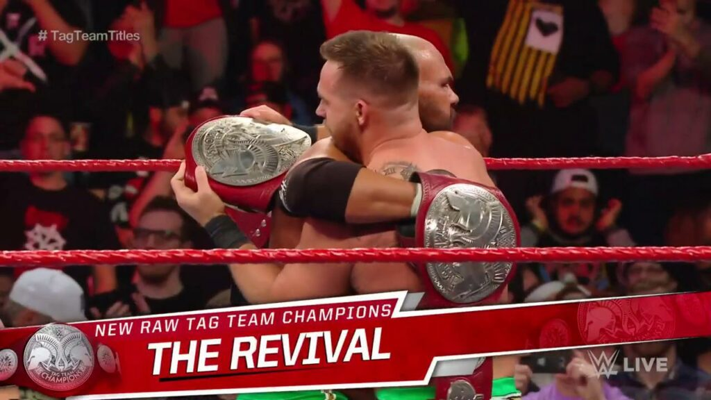Revival win Raw tag team titles