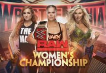 Charlotte, Becky and Ronda WrestleMania