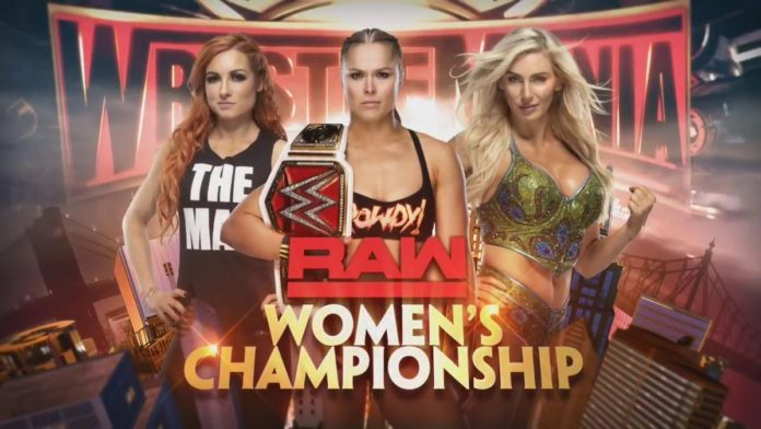 Charlotte, Becky and Ronda WrestleMania
