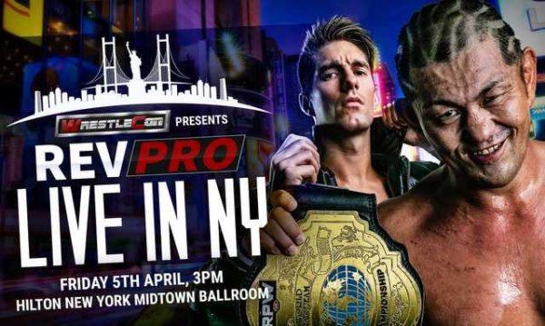 WrestleManiaWeek Preview - WrestleCon presents RevPro: Live