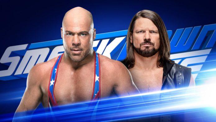 Kurt Angle vs AJ Styles