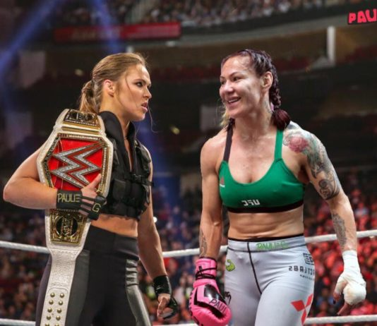 cris cyborg and ronda rousey