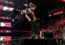 AJ Styles and Seth Rollins