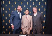 KUSHIDA, Triple H and William Regal NXT