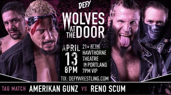 DEFY Wolves At The Door