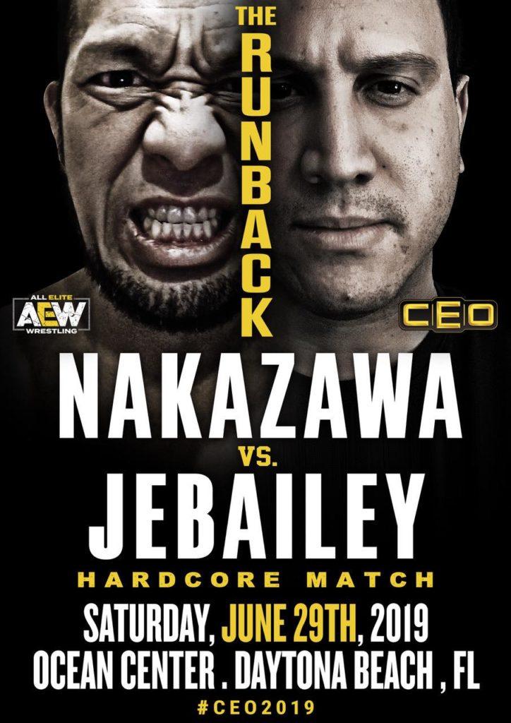 Michael Nakazawa vs Alex Jebailey
