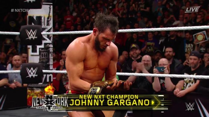 Johnny Gargano, NXT Champion