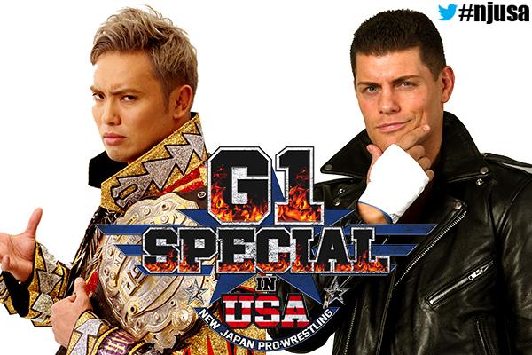 Kazuchika Okada vs. Cody Rhodes