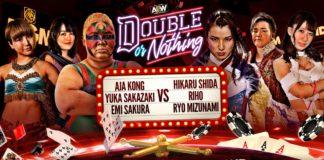 Aja Kong, Emi Sakura & Yuka Sakazaki vs Riho Abe, Hikaru Shida & Ryo Mizunami