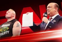Heyman announces Brock Lesnar is cashing in