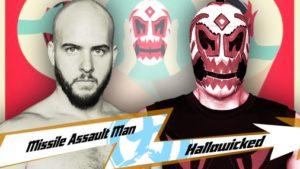 Missile Assault Man versus Hallowicked at Anniversario: The Apes of Wrath