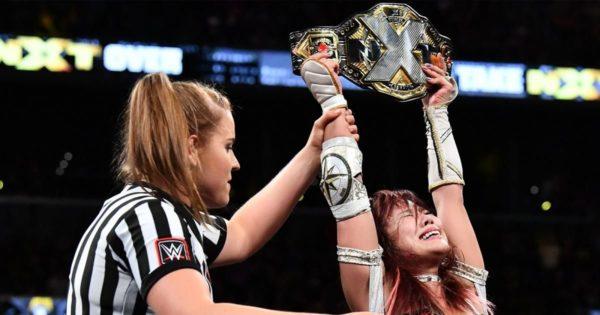 NXT Women's Champion Kairi Sane