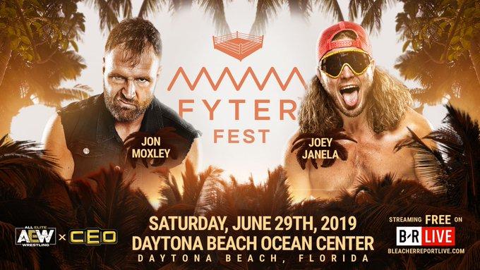 Joey Janela vs Jon Moxley - Fyter Fest