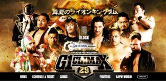 Jon Moxley G1 Climax - B Block