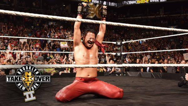 Shinsuke's successful NXT run