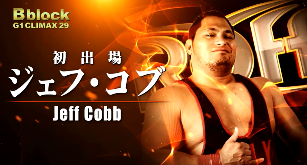 jon moxley vs jeff cobb g1 climax