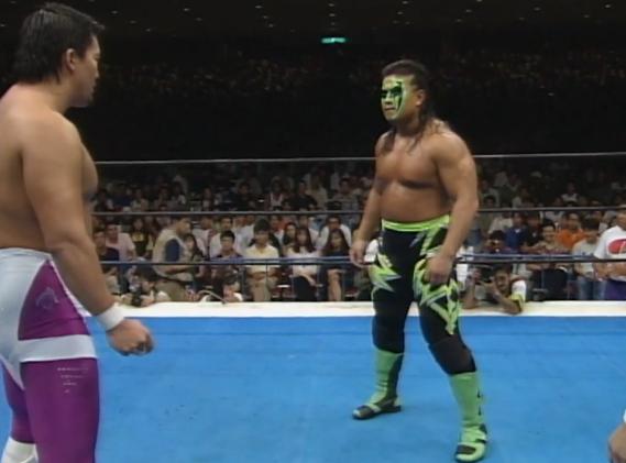 Chono vs Power Warrior 1994 G1 Climax