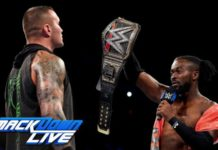 Kofi Kingston vs Randy Orton