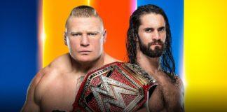 Seth Rollins vs Brock Lesnar