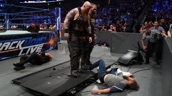 Bludgeon Brothers lay waste to Bryan and Reigns