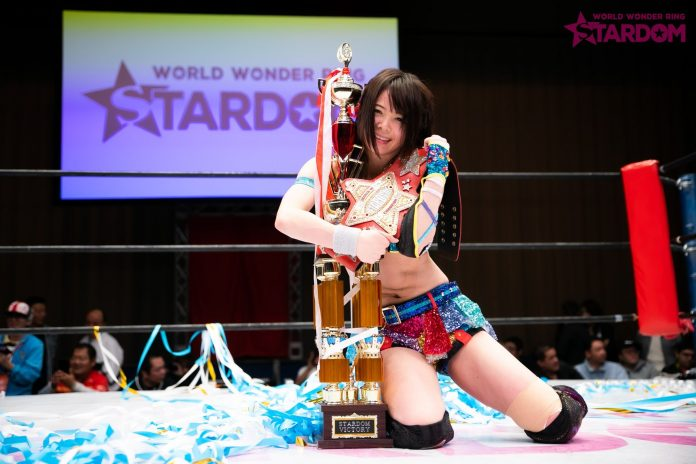 AndNEW: Mayu Iwatani Wins World Of Stardom Championship