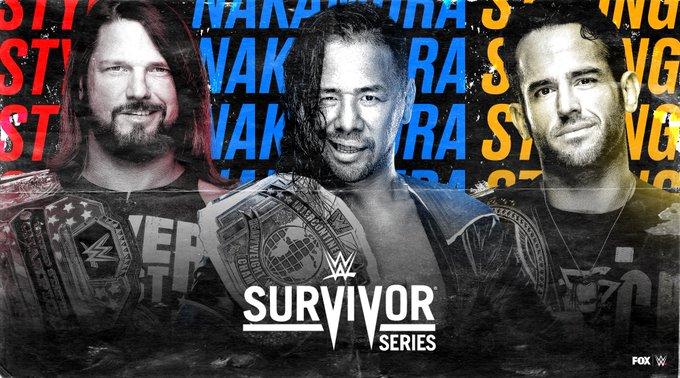 Styles vs Strong vs Nakamura
