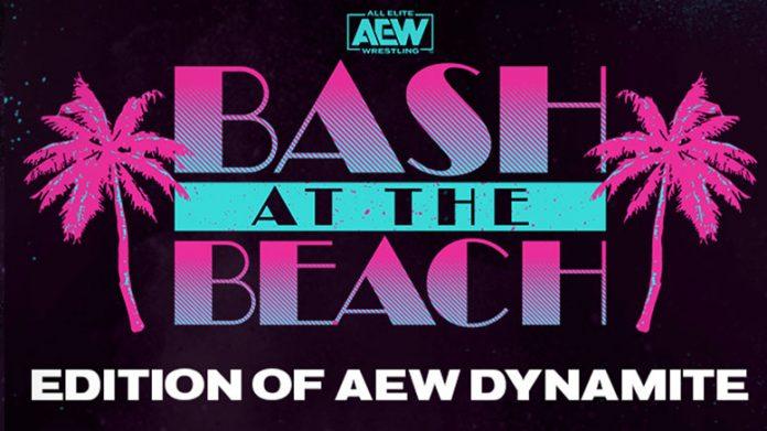 bash at the beach