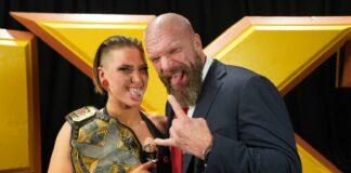 Rhea Ripley and Triple H