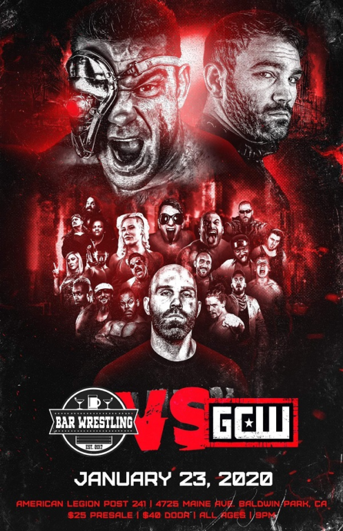 Bar Wrestling vs. GCW