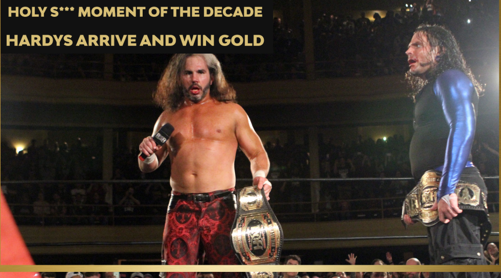 hardys win tag gold - ring of honor best of the decade