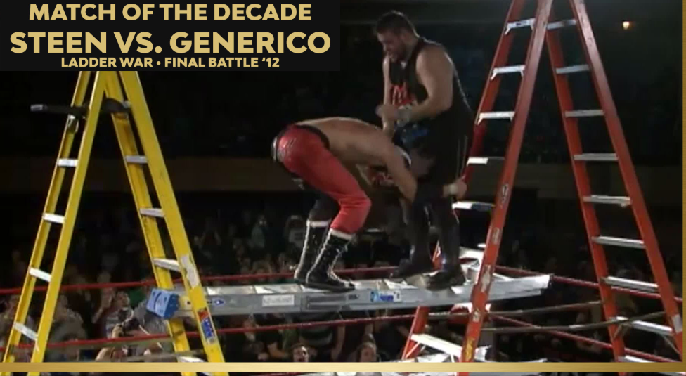 Steen vs Generico - Ring of Honor best of the decade