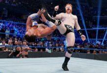 Sheamus, Morrison and Usos return. Sheamus beats up Shorty G.