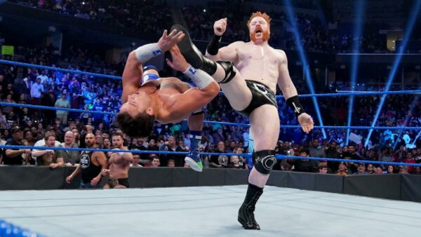 Sheamus, Morrison and Usos return. Sheamus beats up Shorty G.