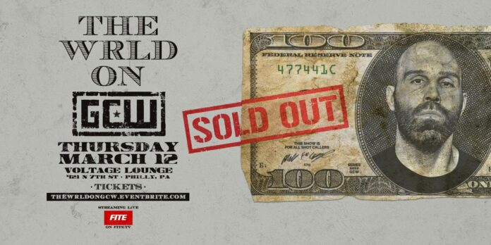 Watch GCW: The Wrld on GCW 2020 3/12/20