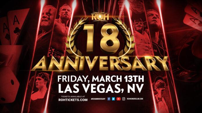 ROH 18th Anniversary