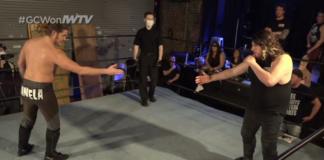 Joey Janela vs Jimmy Lloyd social distancing