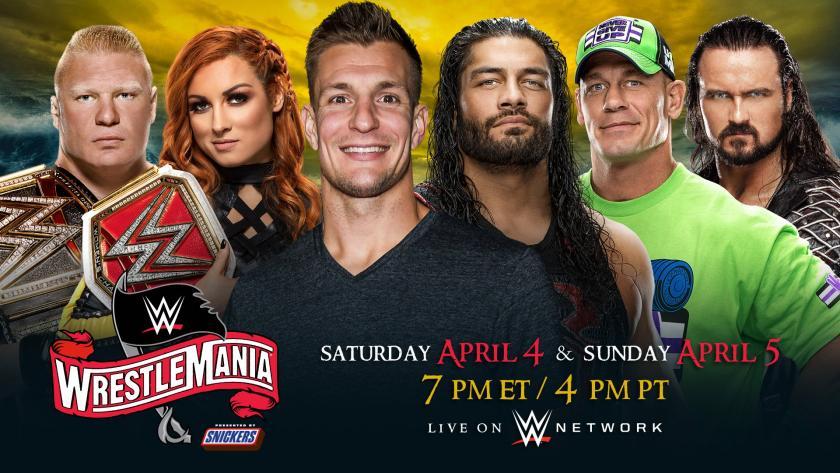 WrestleMania, Gronkowski