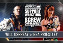 wrestletalk showcase no fans monday